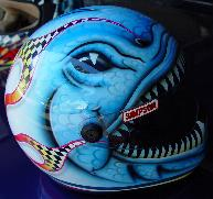 Pirahna racing helmet